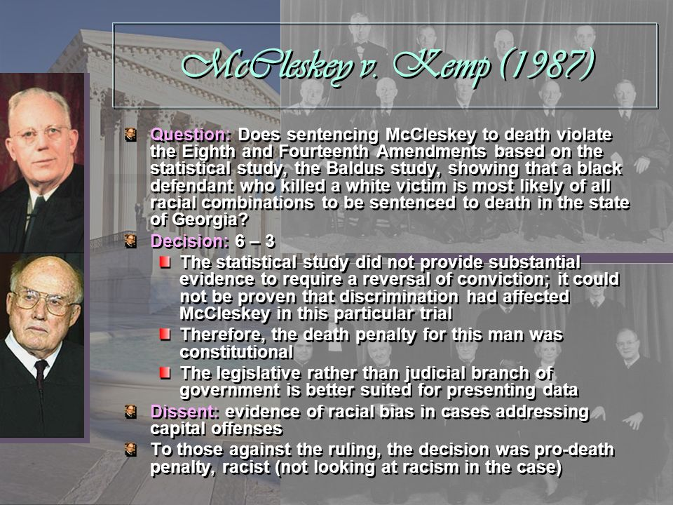 McCleskey v. Kemp (1987)