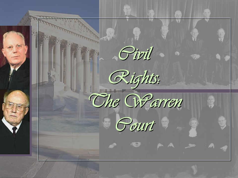 Civil Rights: The Warren Court