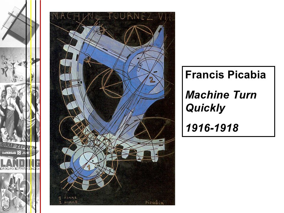 Francis Picabia Machine Turn Quickly 1916-1918
