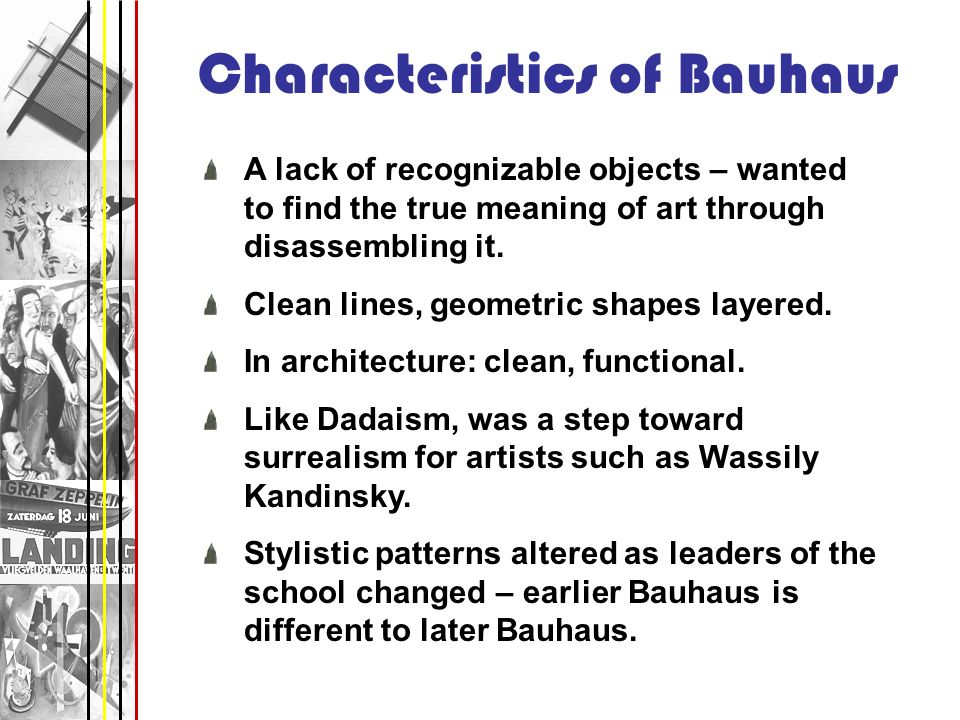 Characteristics Of Line In Art : Art movements of the post wwi years raphaella w def ppt