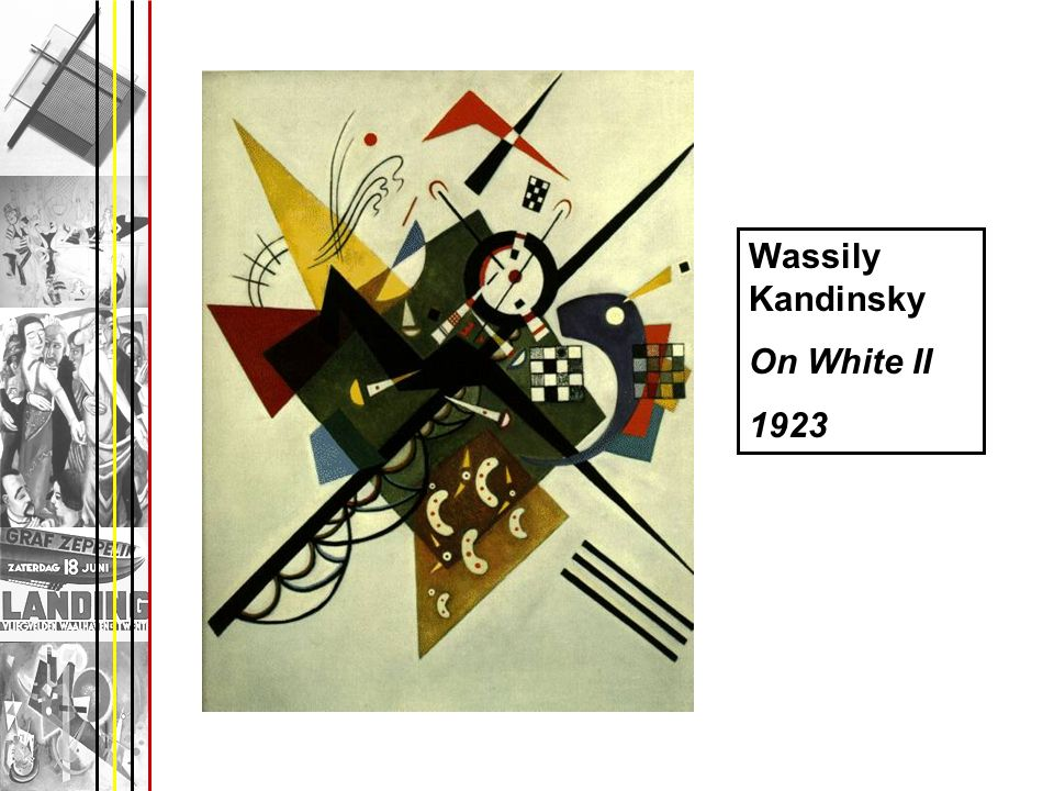 Wassily Kandinsky On White II 1923