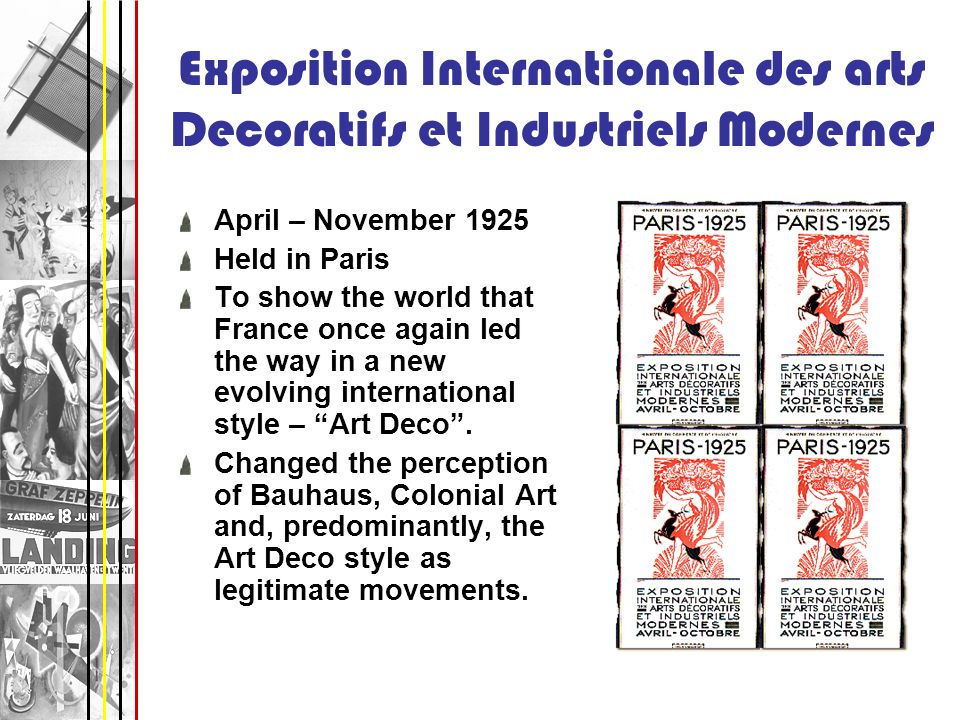 Exposition Internationale des arts Decoratifs et Industriels Modernes