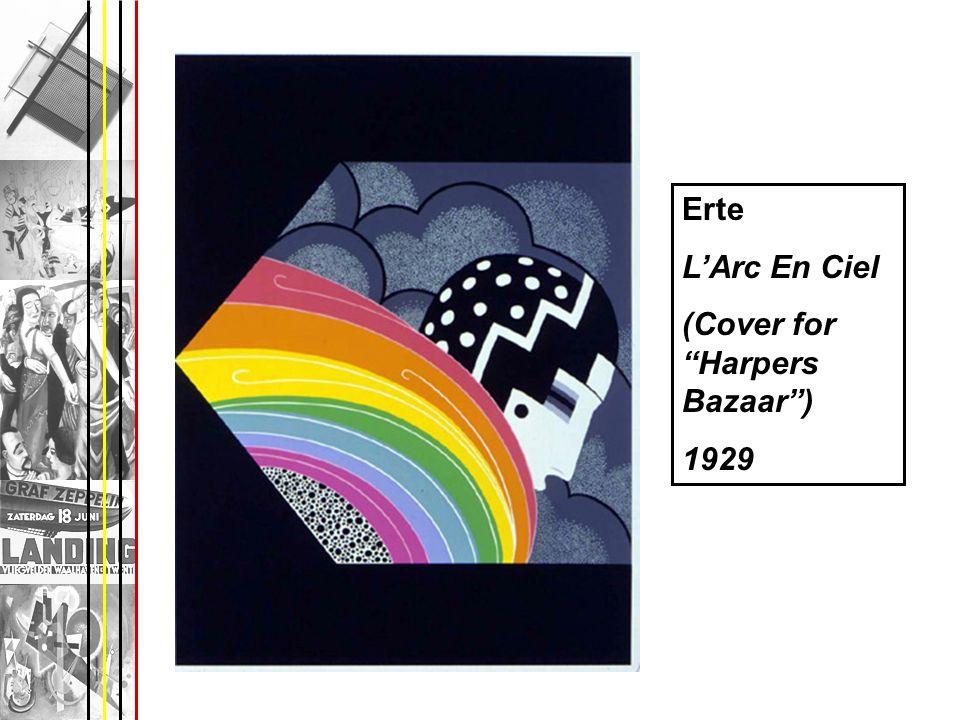 Erte L'Arc En Ciel (Cover for Harpers Bazaar ) 1929