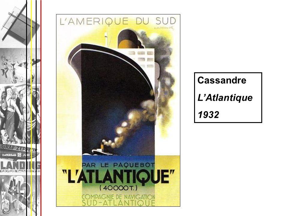 Cassandre L'Atlantique 1932