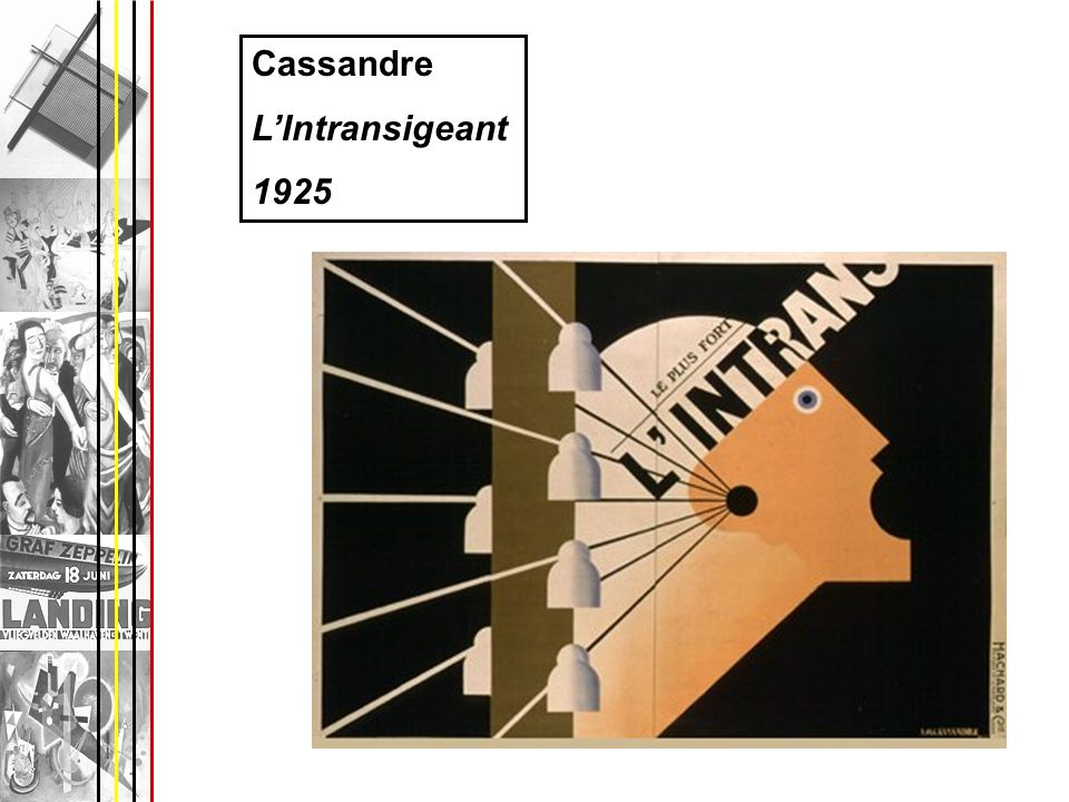 Cassandre L'Intransigeant 1925