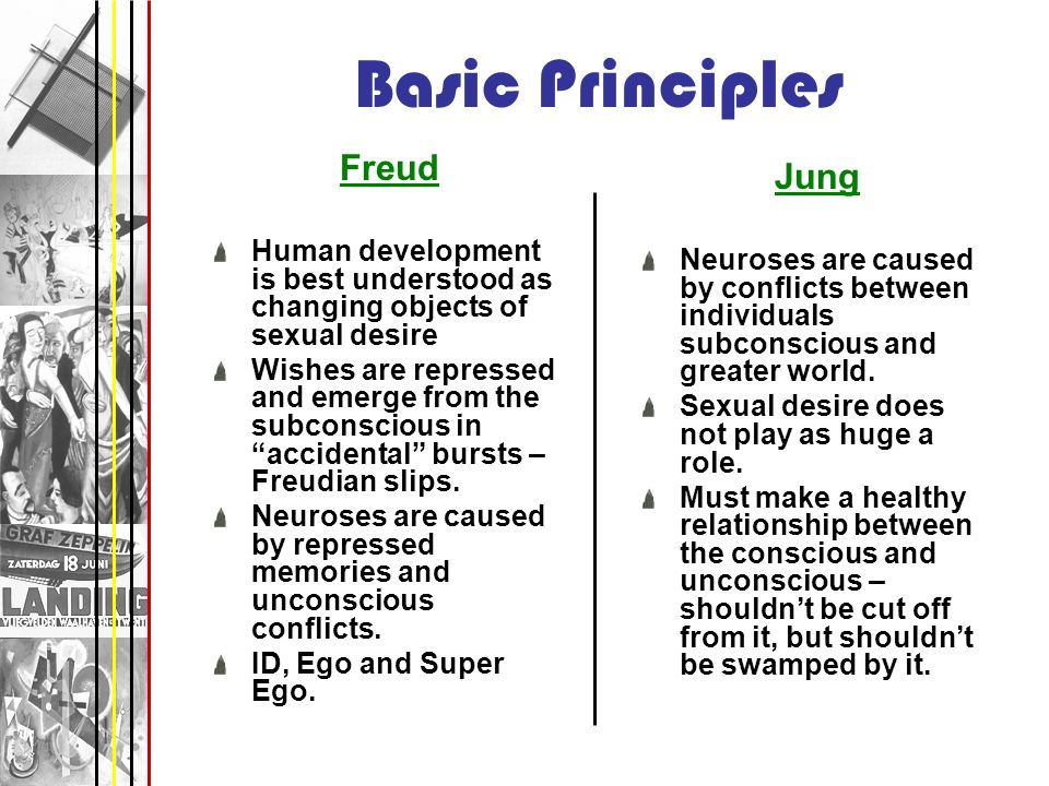 Basic Principles Freud Jung