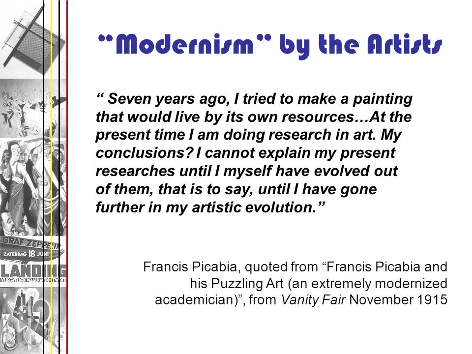 Modernism by the Artists