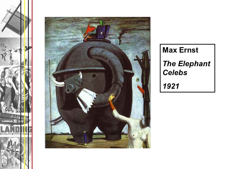 Max Ernst The Elephant Celebs 1921