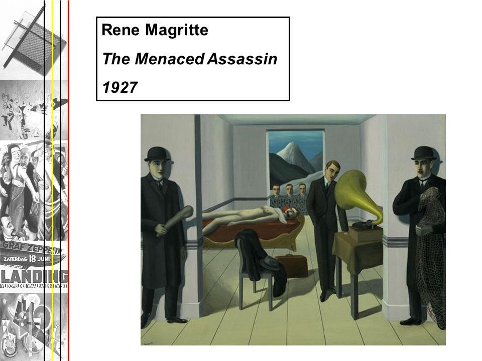 Rene Magritte The Menaced Assassin 1927