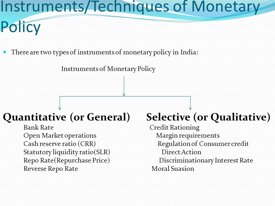 monetary policy transmission in india Objective of the project: transmission channels of monetary policy are quite  diverse across the countries in this project, we are examining how these  channels.