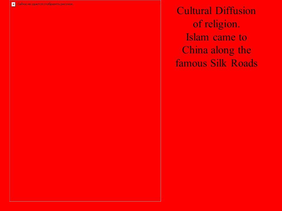Cultural Diffusion of religion