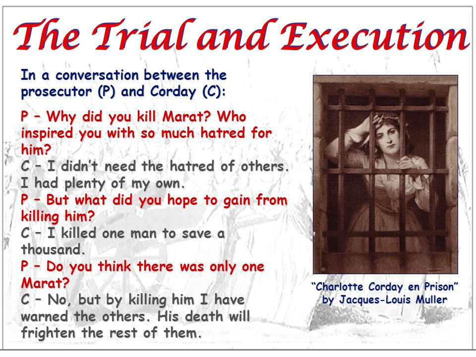 The Trial and Execution