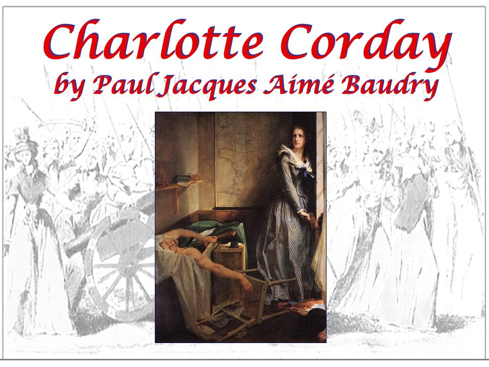 Charlotte Corday by Paul Jacques Aimé Baudry