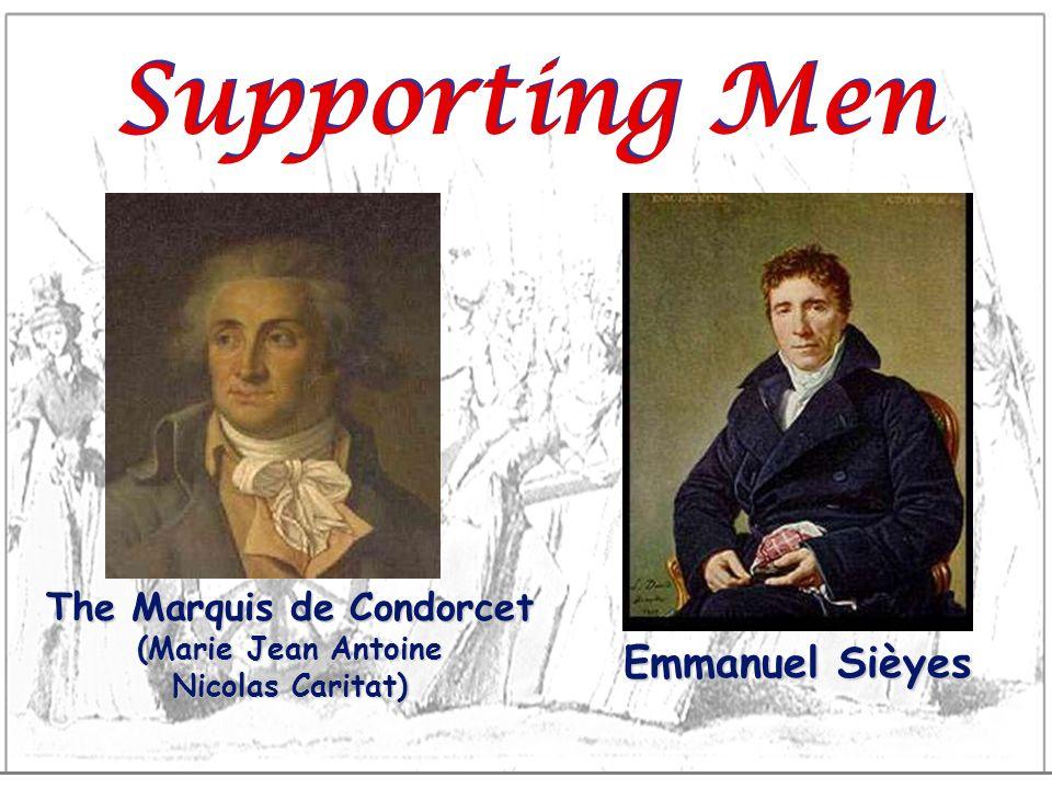 The Marquis de Condorcet (Marie Jean Antoine Nicolas Caritat)