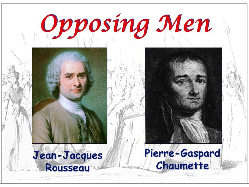 Pierre-Gaspard Chaumette Jean-Jacques Rousseau