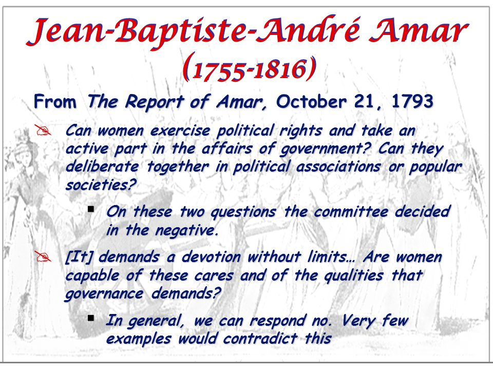 Jean-Baptiste-André Amar (1755-1816)