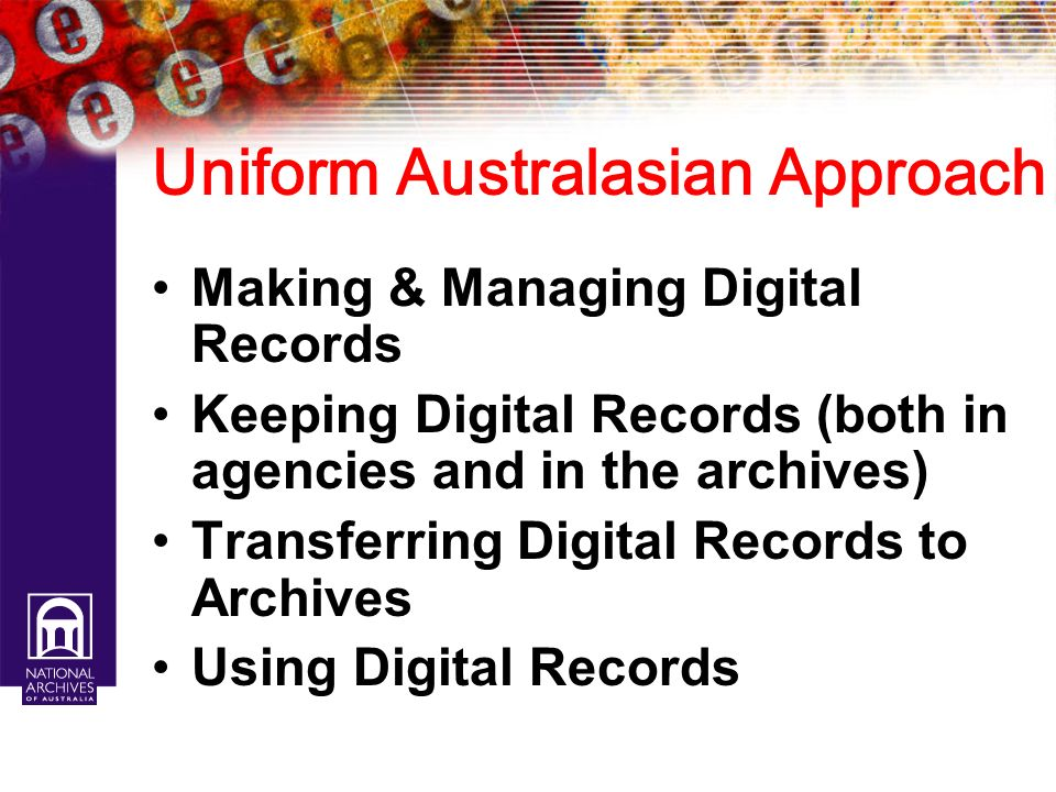 Uniform Australasian Approach