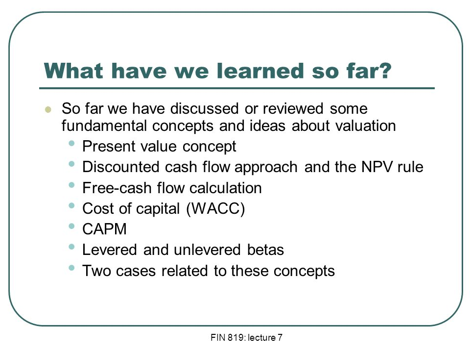 the wacc fallacy the real effects Contrasts wacc and mcc, providing examples on each type of cost measure   1131 dividend growth rate and the effect of changing dividend policy.