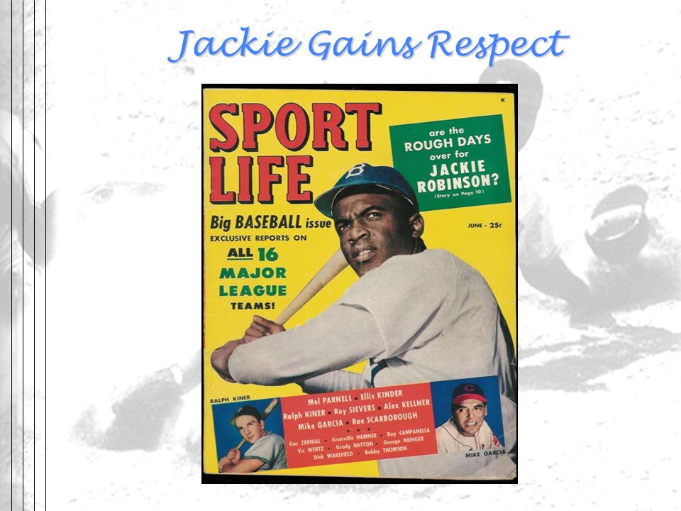 Jackie Gains Respect Sports Artifacts.