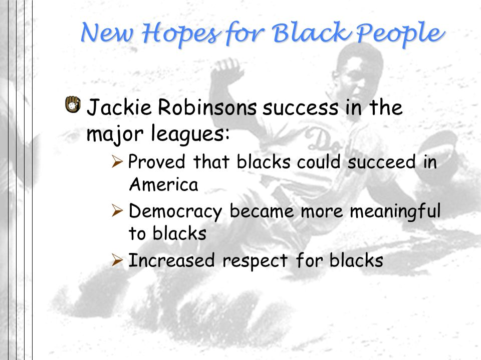 New Hopes for Black People