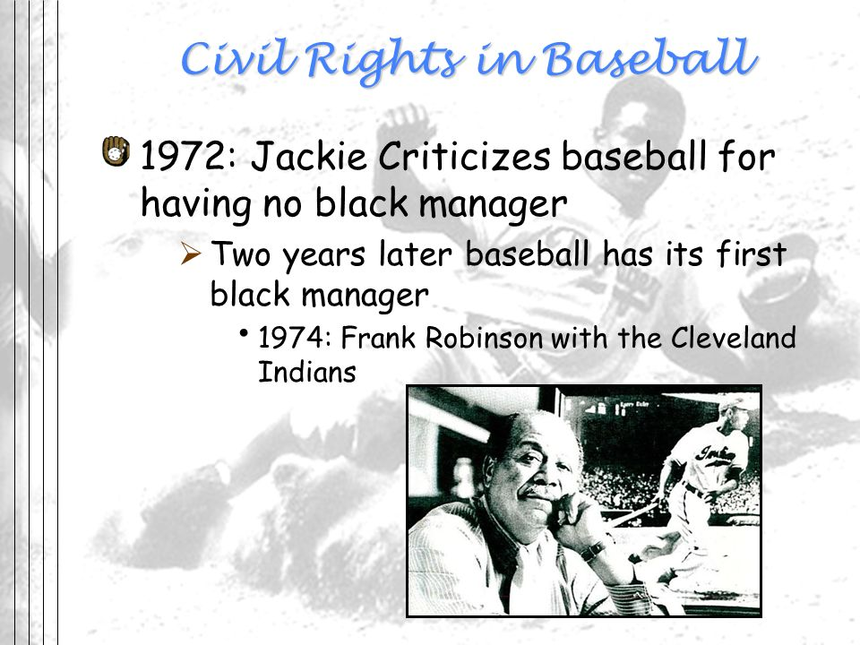 Civil Rights in Baseball