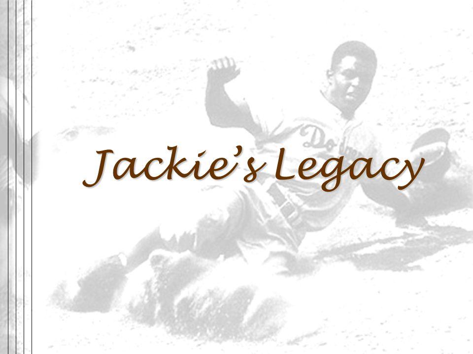 Jackie's Legacy