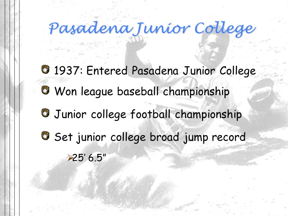Pasadena Junior College