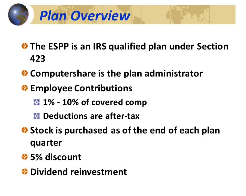 Omnicom Group Employee Purchase Plan ESPP ppt download – Stock Plan Administrator