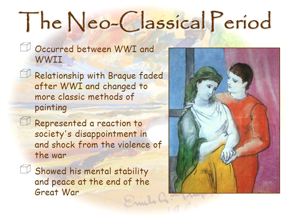 The Neo-Classical Period