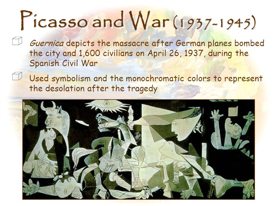 Picasso and War (1937-1945)