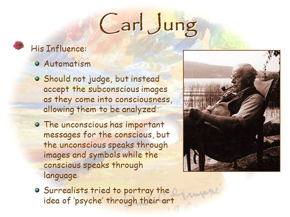 Carl Jung His Influence: Automatism