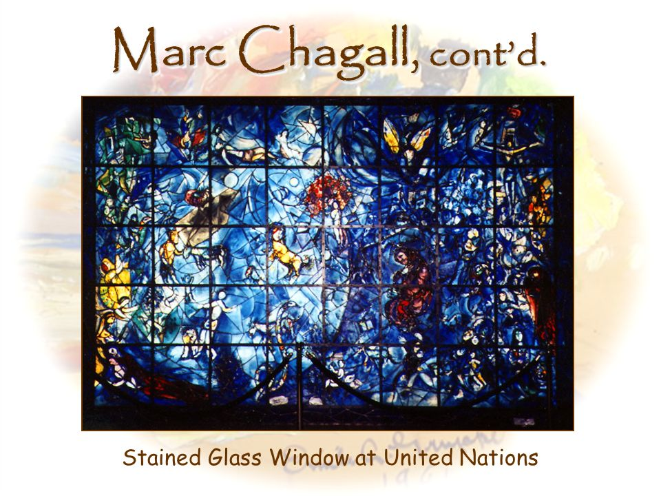 Stained Glass Window at United Nations