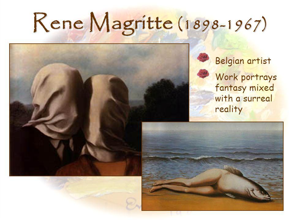 Rene Magritte (1898-1967) Belgian artist