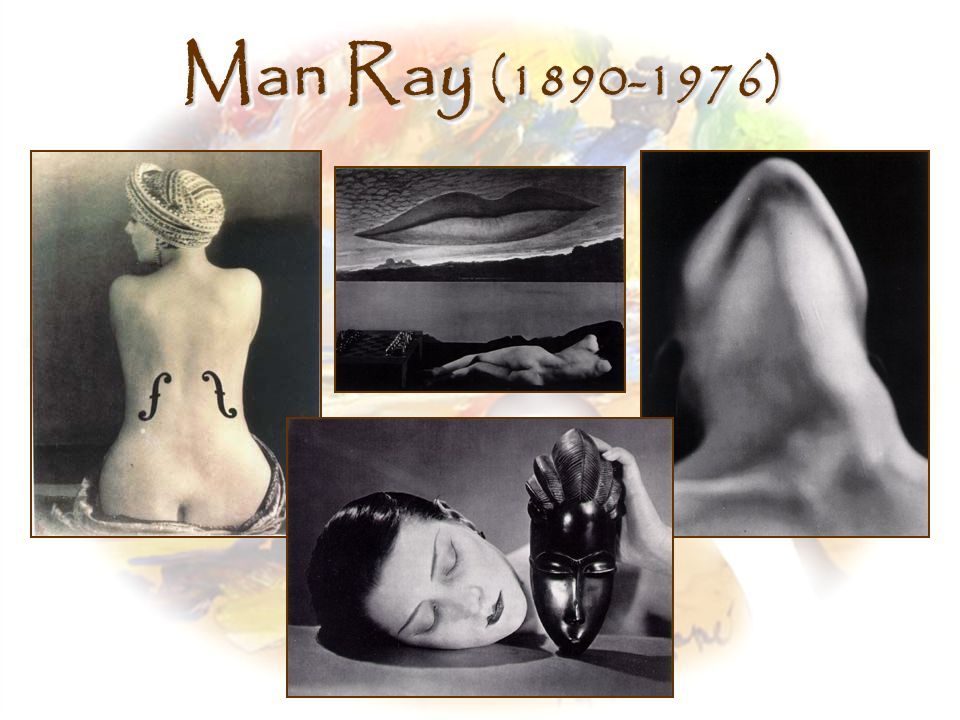 Man Ray (1890-1976) Left, Le Violin D'Ingres, Man Ray (1924)