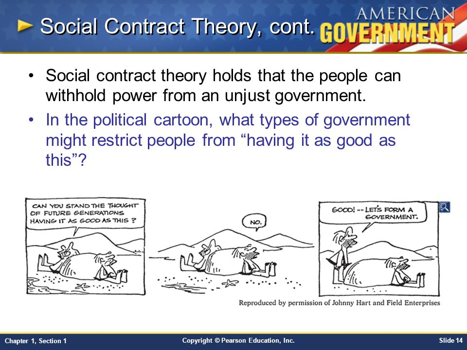 Social Contract Theory, cont.
