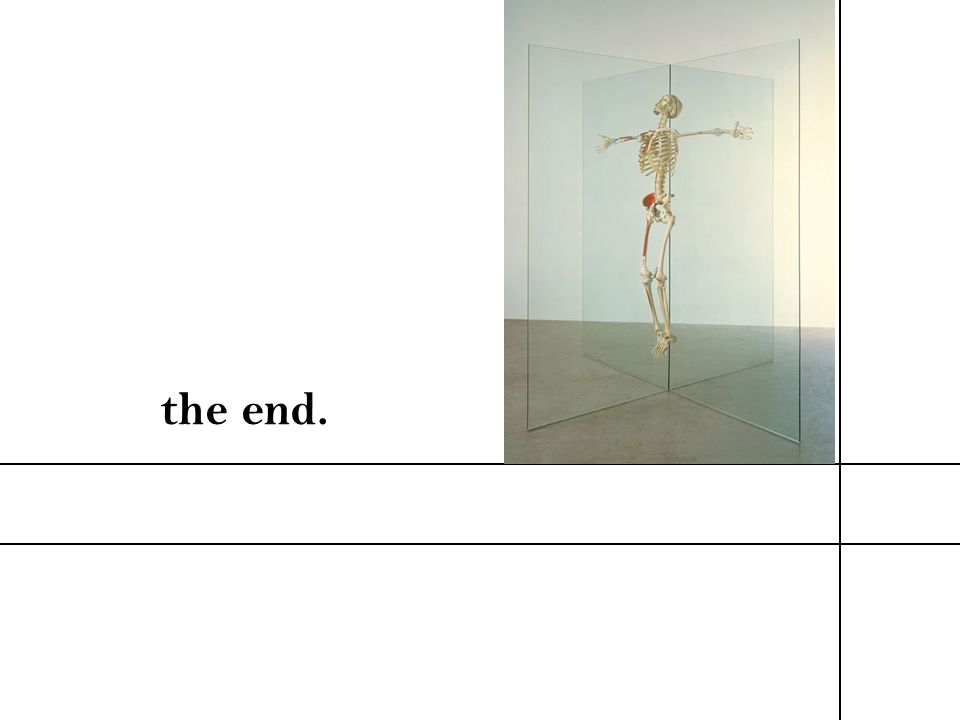 the end. Bibliography. The 20th Century Art Book. London: Phaiden, 1996.