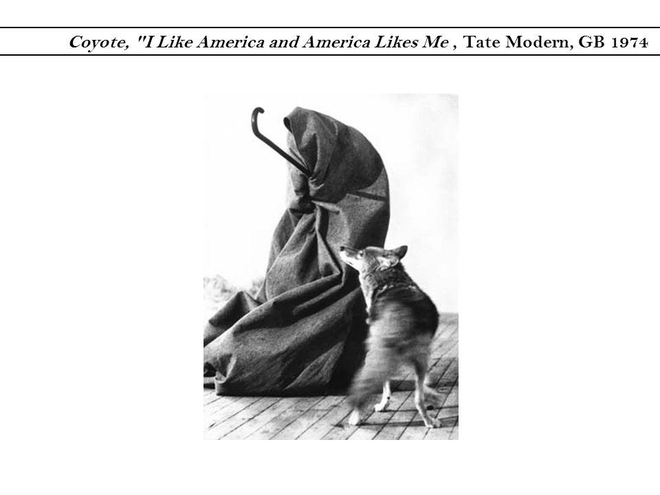 Coyote, I Like America and America Likes Me , Tate Modern, GB 1974