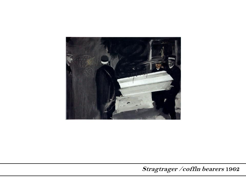 Stragtrager /coffin bearers 1962