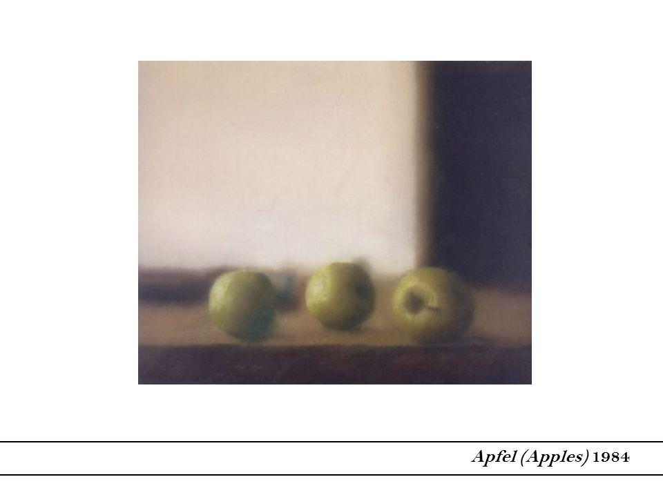 Apfel (Apples) 1984