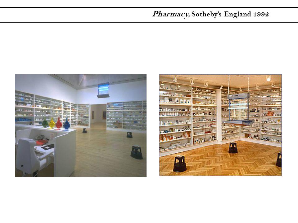 Pharmacy, Sotheby's England 1992