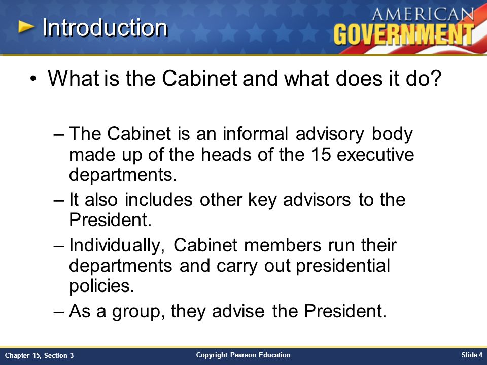 Chapter 15: Government at Work: The Bureaucracy Section 3 - ppt ...