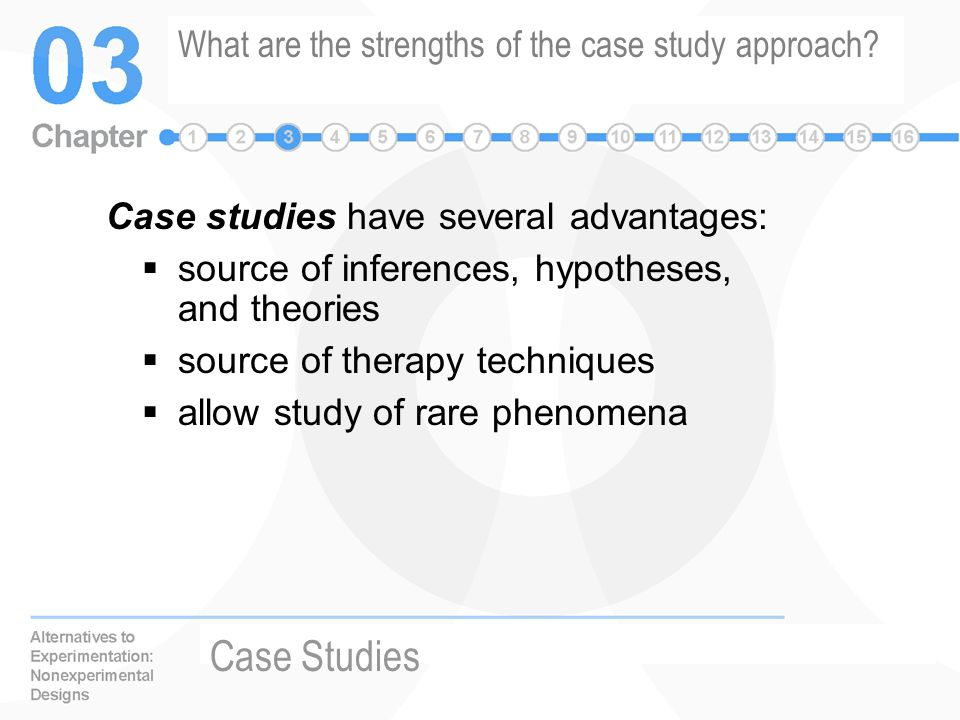 advantages of case study method in sociology The case study method often involves simply observing what happens to, or reconstructing 'the case history' of a single participant or group of individuals (such as a school class or a.