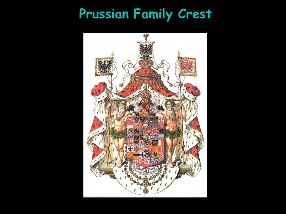 Prussian Family Crest