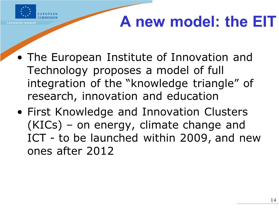 A new model: the EIT