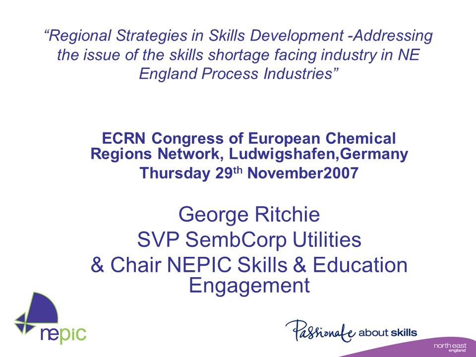 SVP SembCorp Utilities & Chair NEPIC Skills & Education Engagement