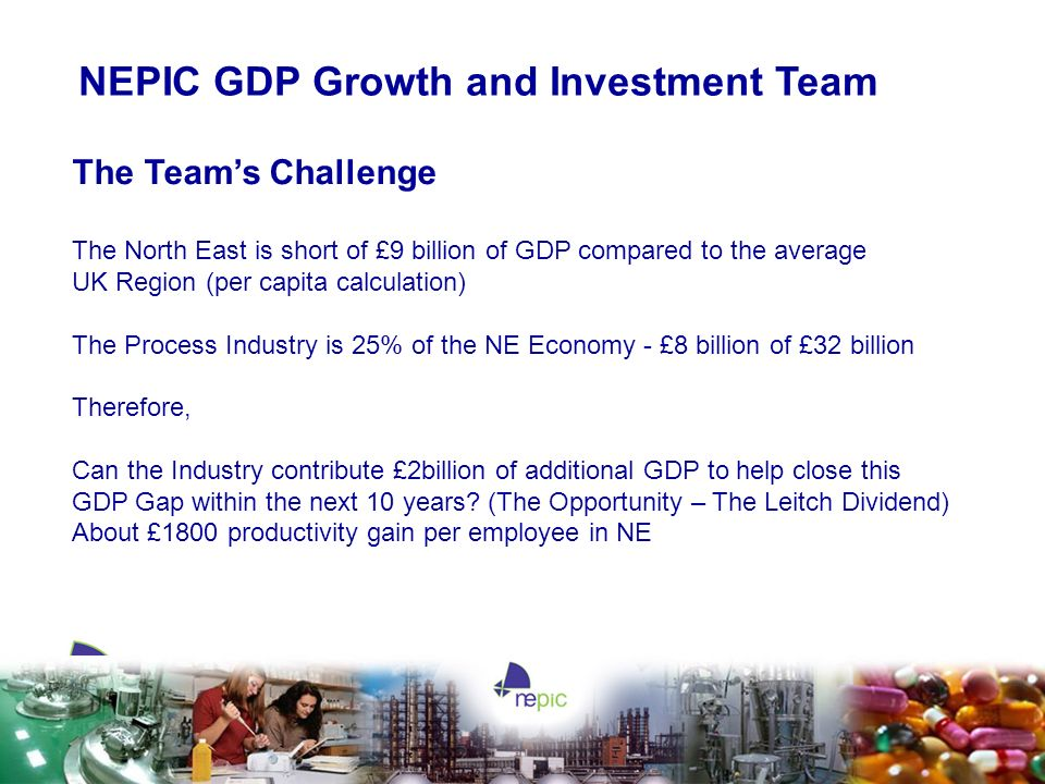 NEPIC GDP Growth and Investment Team