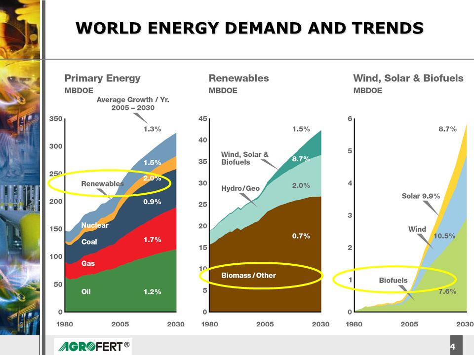 WORLD ENERGY DEMAND AND TRENDS