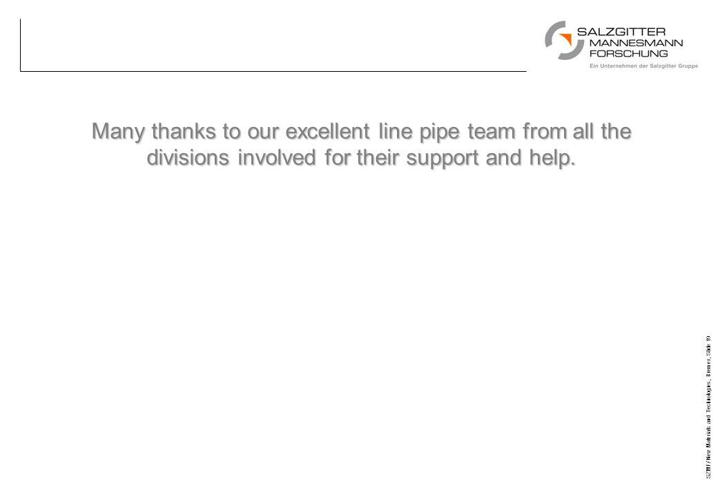 Titel 27/03/17. Many thanks to our excellent line pipe team from all the divisions involved for their support and help.