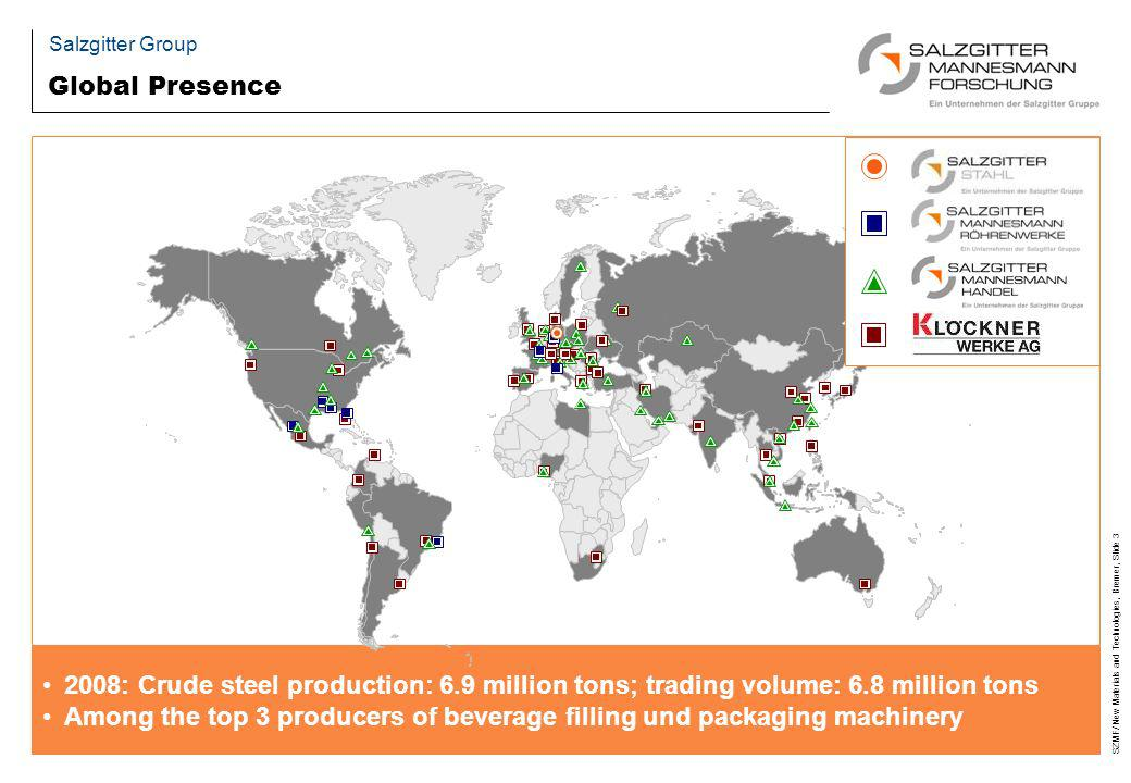 Among the top 3 producers of beverage filling und packaging machinery