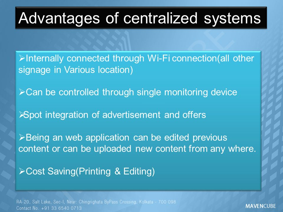 Advantages Of Internet Monitor System : Digital signage presentation ppt video online download